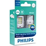 Philips Ultinon LED T20 W21W 12V White Wedge globes - boxed pair