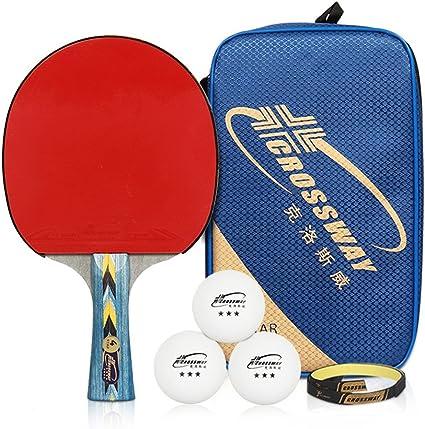 Setucamp 4 Star Profesional Ping Pong Paddles – Tenis de Mesa ...