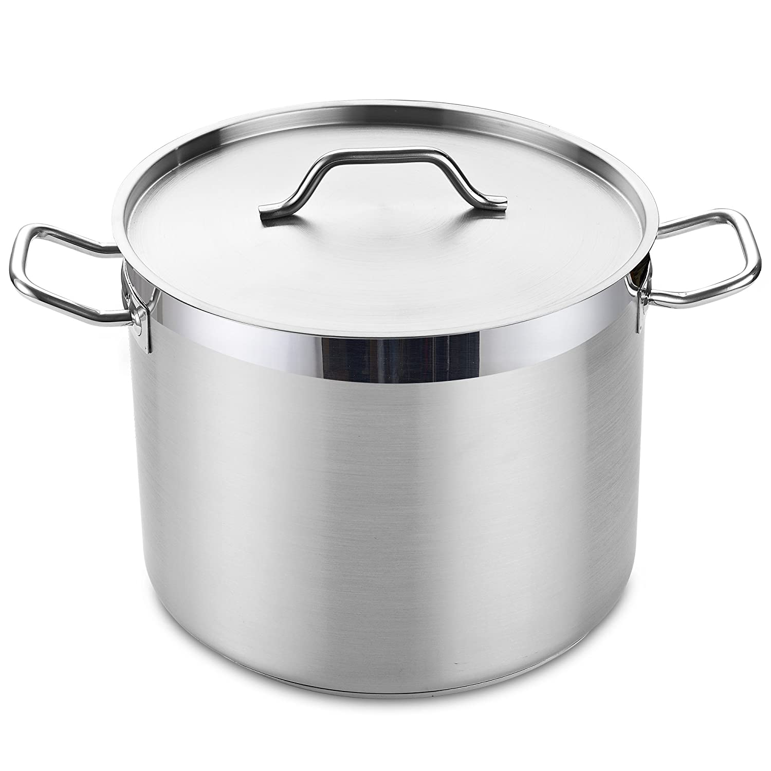 Cooks Standard 02584 Classic Stainless Steel Stockpot, 8-Quart, Silver