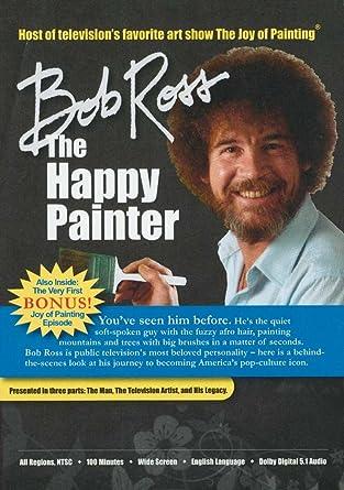 Tremendous Amazon Com Bob Ross The Happy Painter Bob Ross Jane Seymour Hairstyles For Men Maxibearus