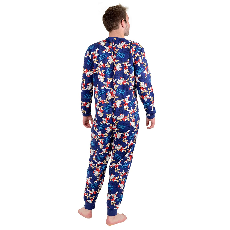 XS-Stock - Pijama de una Pieza - para Hombre 100% Grumpy: Amazon.es: Ropa y accesorios