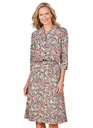 808baf19ae AmeriMark Shirtwaist Dress at Amazon Women's Clothing store: