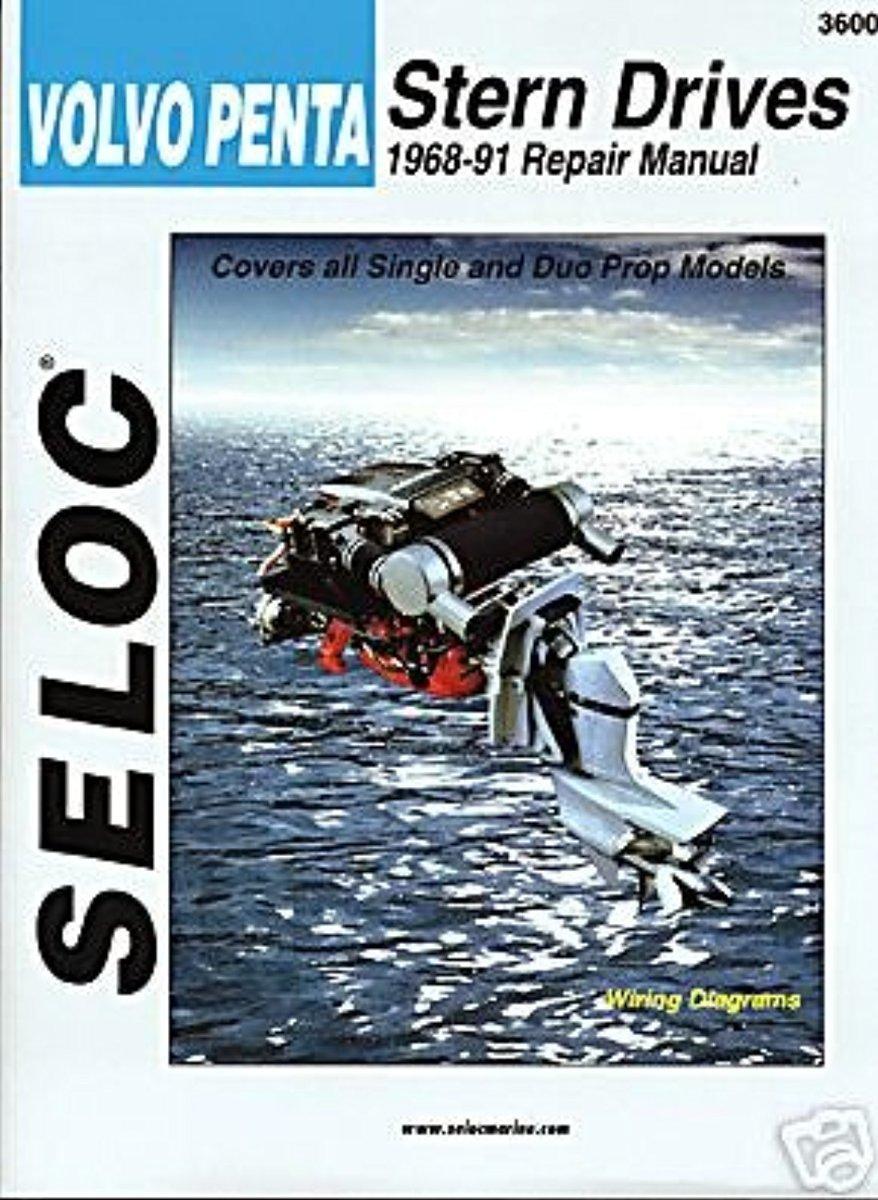 VOLVO STERN DRIVE, 1968-1991 Engine Repair Manual
