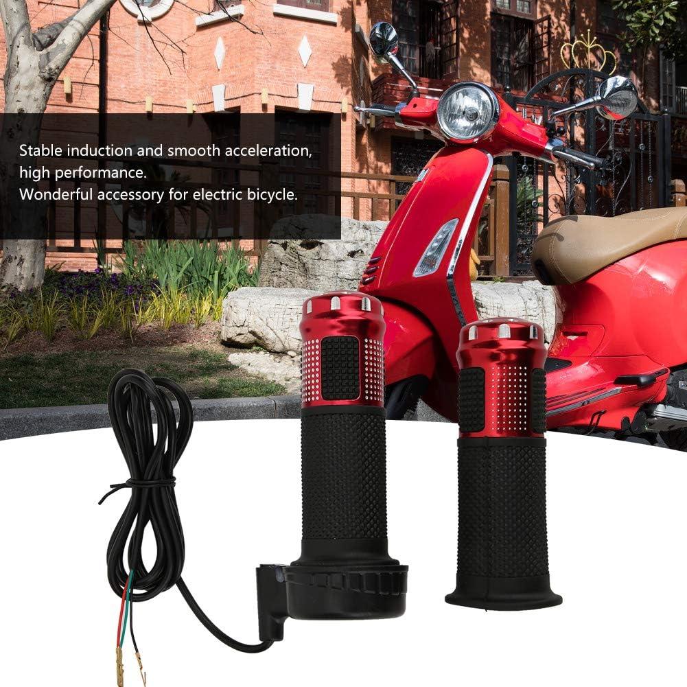 1-Paar Universal-Komfort-Gasgriff mit 1,5 m langem Kabel MAGT Elektro-Fahrrad-Gasgriff