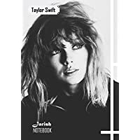 Notebook: Taylor Swift Medium College Ruled Notebook 129 Pages Lined 7 X 10 in (17.78 X 25.4 CM)