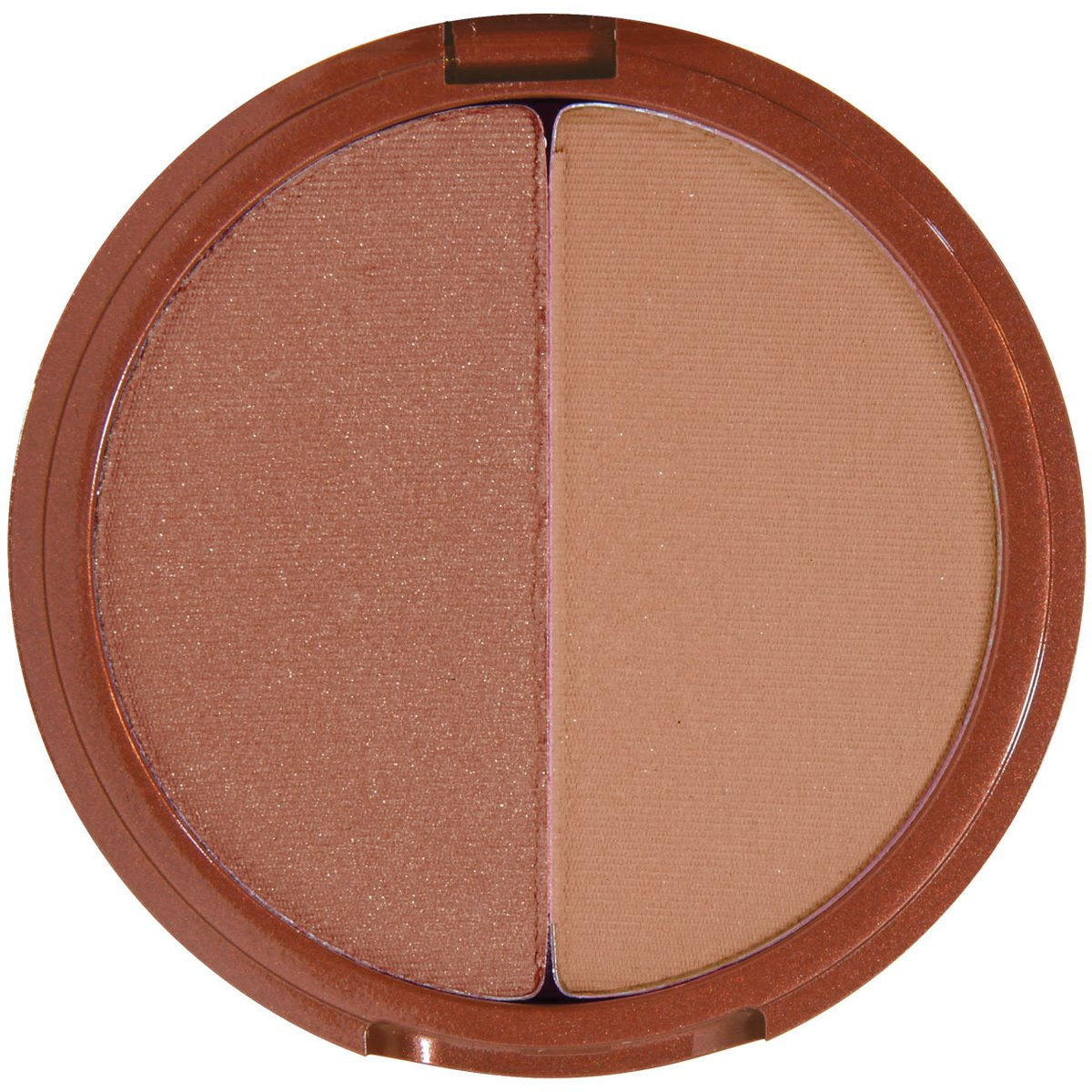 Mineral Fusion Bronzer Duo - Luster By Mineral Fusion for Women - 0.29 Oz Bronzer, 0.29 Oz by Mineral Fusion