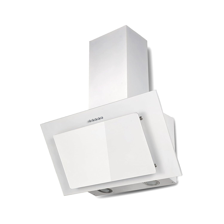 respekta CH 33060 WB Blanco Kaminhaube, 60cm [Clase de eficiencia energética B] CH 33060 SB