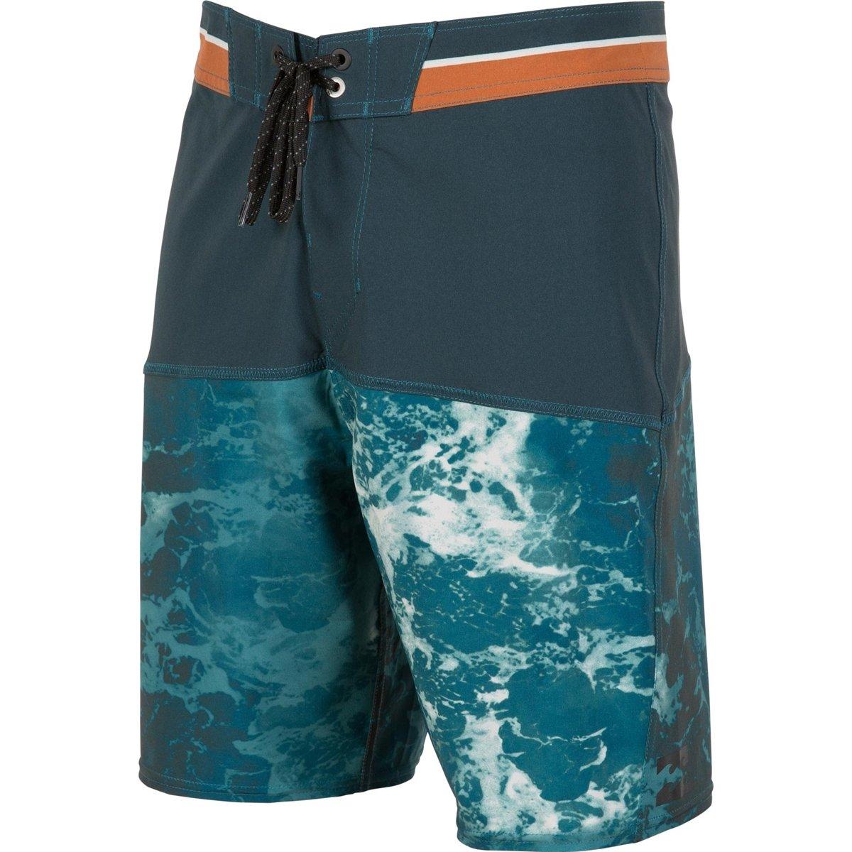 Billabong Men's Shifty X Wash Boardshorts, Deep Sea, 33