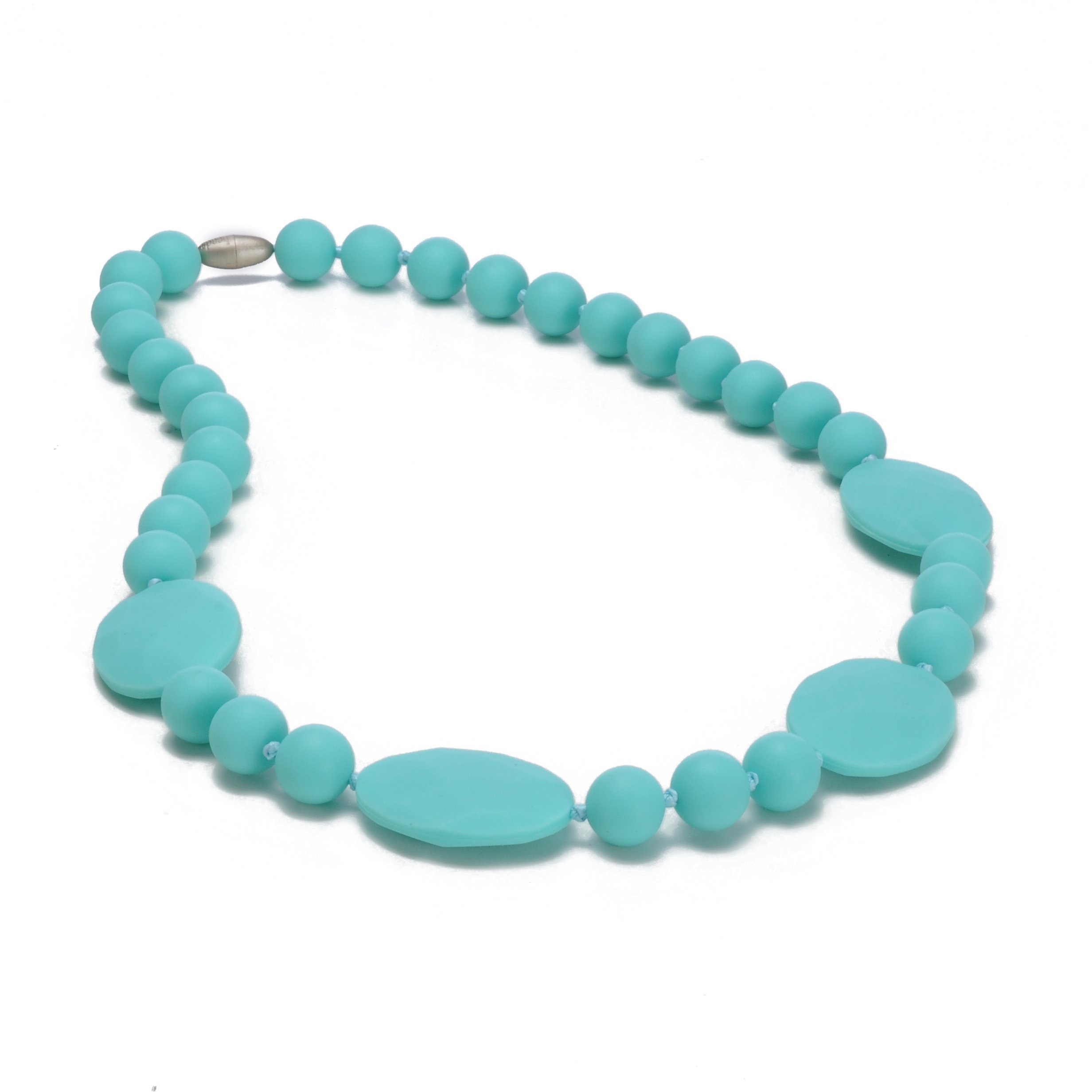 Chewbeads Necklace - Perry -Turquoise by Chewbeads