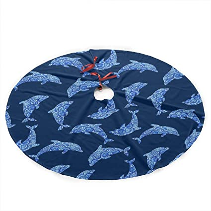Amazoncom Luckyly Christmas Tree Skirt355 Inch Witch Cauldron