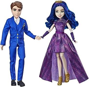 Disney Descendants- Pack de 2 Figuras, Multicolor, Talla Única (Hasbro E6042EU4): Amazon.es: Juguetes y juegos