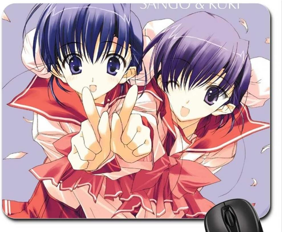 Anime girl Mouse Pad, Mousepad: Amazon.co.uk: Office Products
