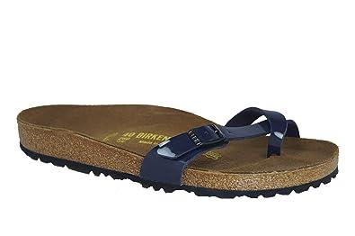 d7131f80dec16 Birkenstock Piazza 017093 Womens Sandals Size  7 Black