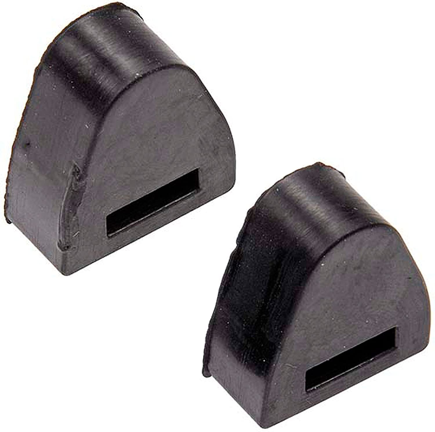 APDTY 56780 Tailgate Rubber Bumper Stop Set For 1999-2007 Chevy Silverado Pickup / GMC Sierra Pickup (Includes 2 Tailgate Bumpers) (Replaces GM 16633065)