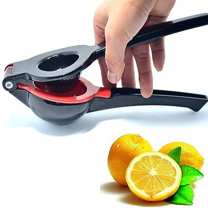 fanyi Professional – Lima Limón Naranja Exprimidor Manual Exprimidor y licuadora diseño único 2 cuencos de