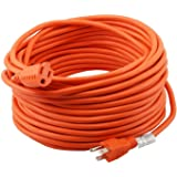 Epicord 16/3 Extension Cord Outdoor Extension Cord (25 ft) Orange Heavy Duty Extension Cord