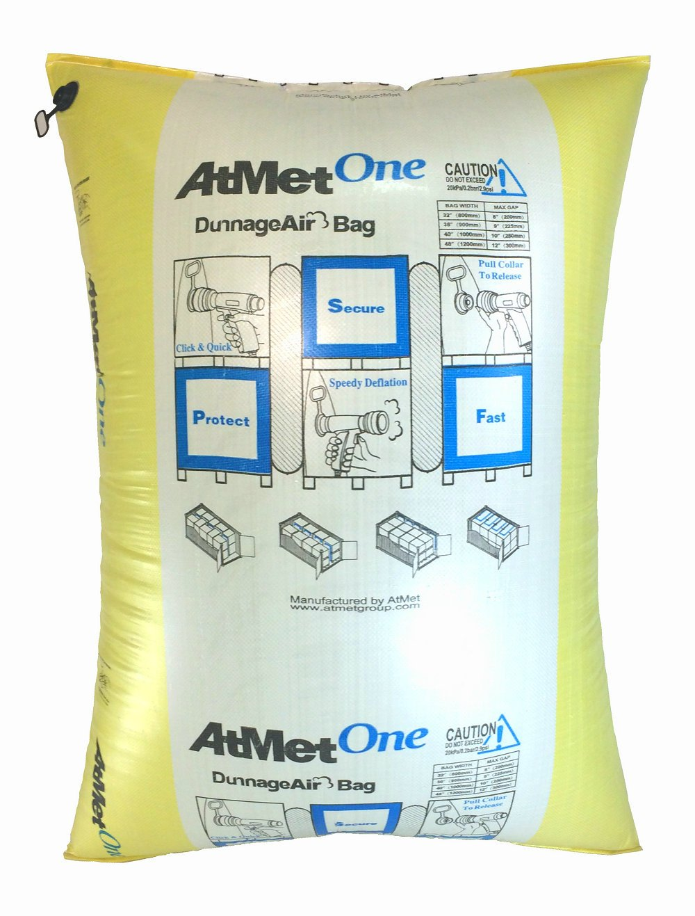 New AtmetOne Dunnage Bag AAR Approved 48''x66'' 10pcs/Pack