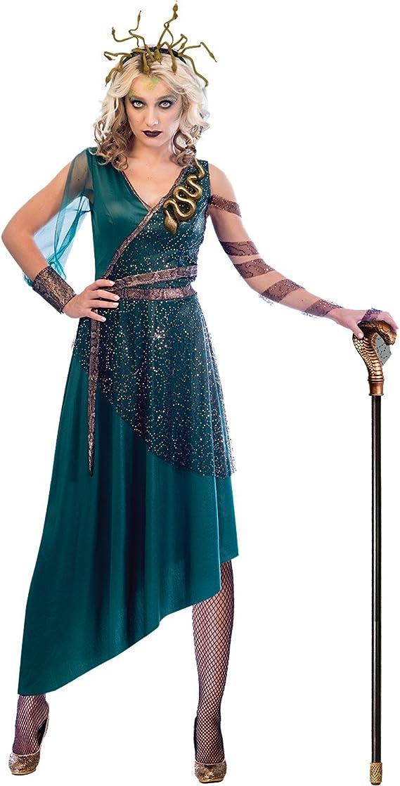 amscan Disfraz de Medusa para Mujer para Adultos Talla de Vestido ...