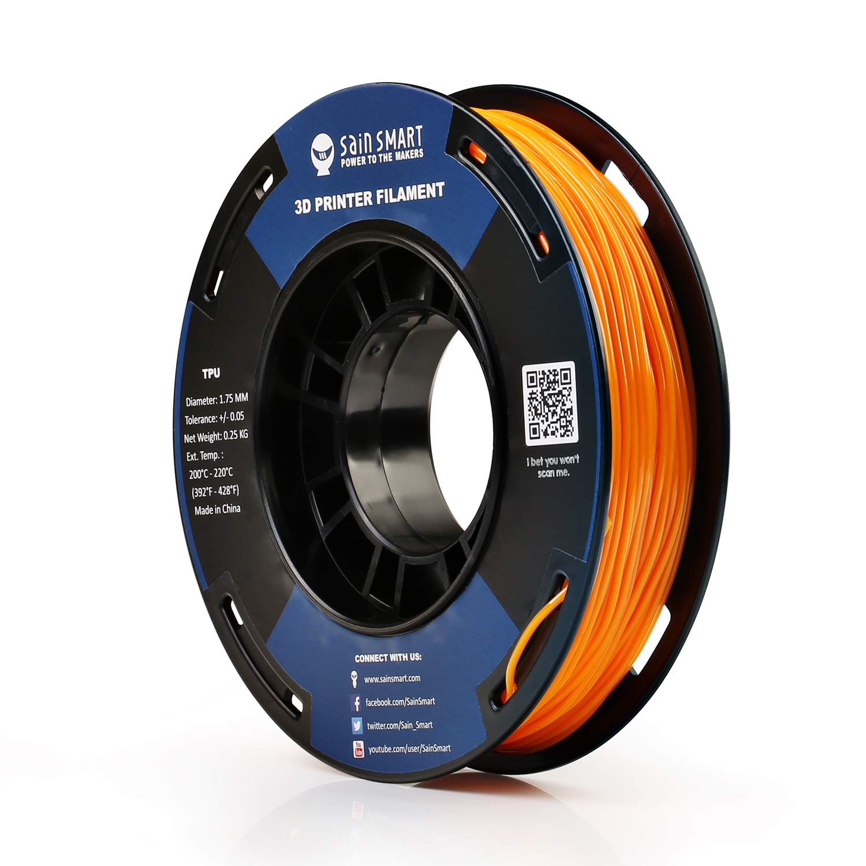 SAINSMART Filamento de impresión 3D flexible de 1,75 mm, 250 g ...
