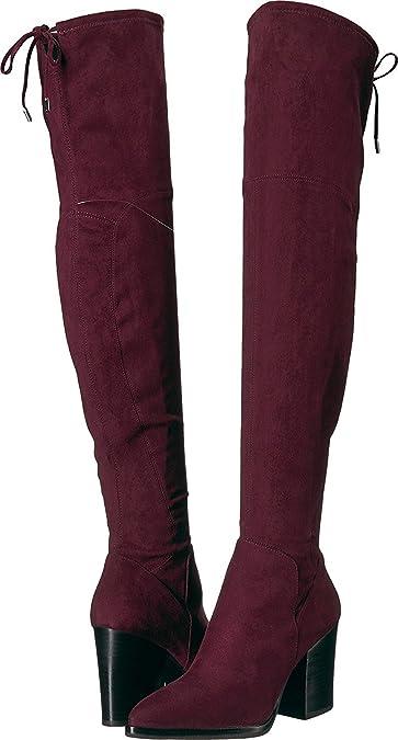 2cdaa124b9fc Marc Fisher LTD Women's Adora Bordeaux/Bordeaux Fabric 5 M ...