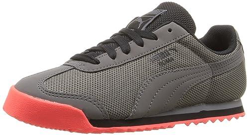 Zapatillas de deporte Roma HM Kids (Liitle Kid), Puma Black / Puma Black, 1,5 M US Little Kid: Amazon.es: Zapatos y complementos