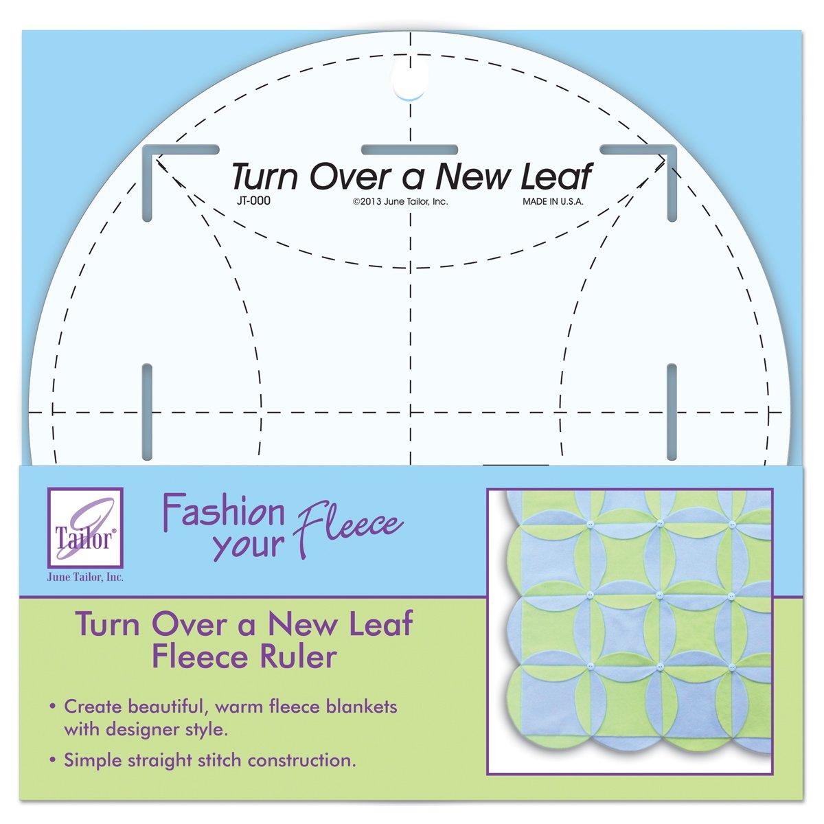 June Tailor Turn Over a New Leaf Ruler, 8-Inch June Tailor Inc JT-784