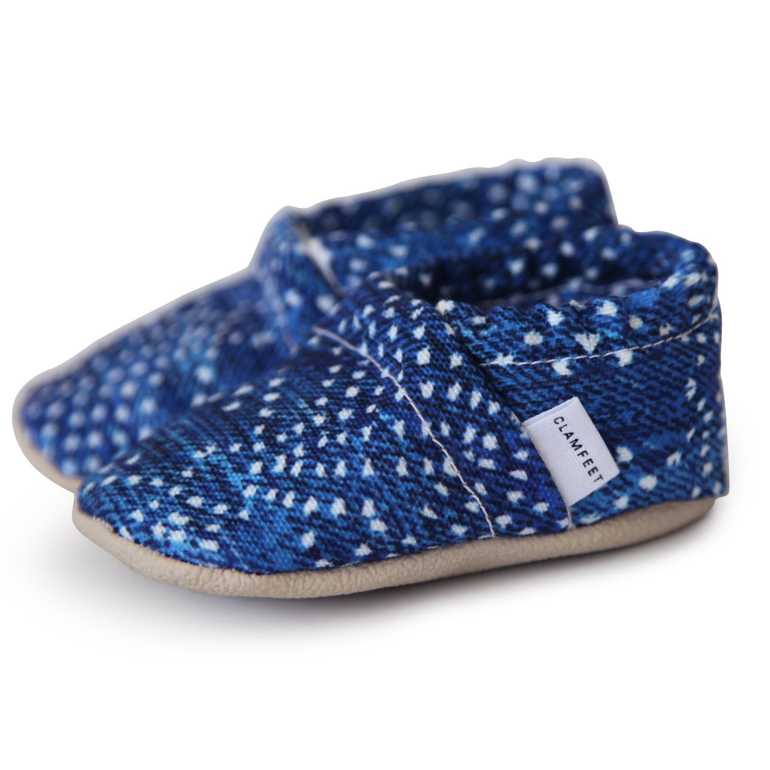 Amazon.com | Clamfeet Organic Soft Soled Baby Moccasins Organic Baby Shoes | Shoes