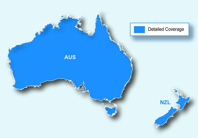 carte gps garmin australia