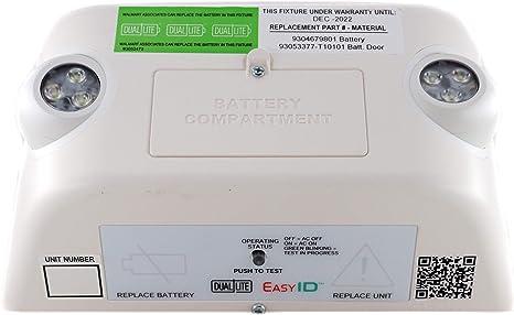 Dual-Lite Commercial LED Emergency Light