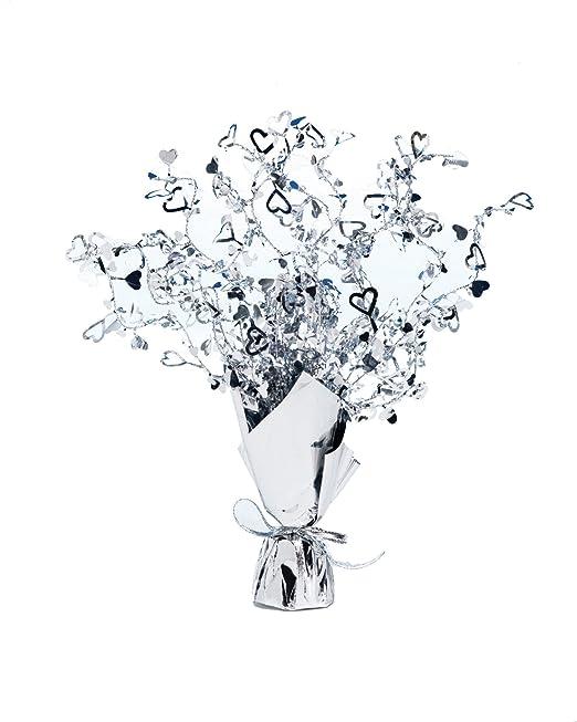1 opinioni per Stafford Silver Foil Spray Centrepiece Silver