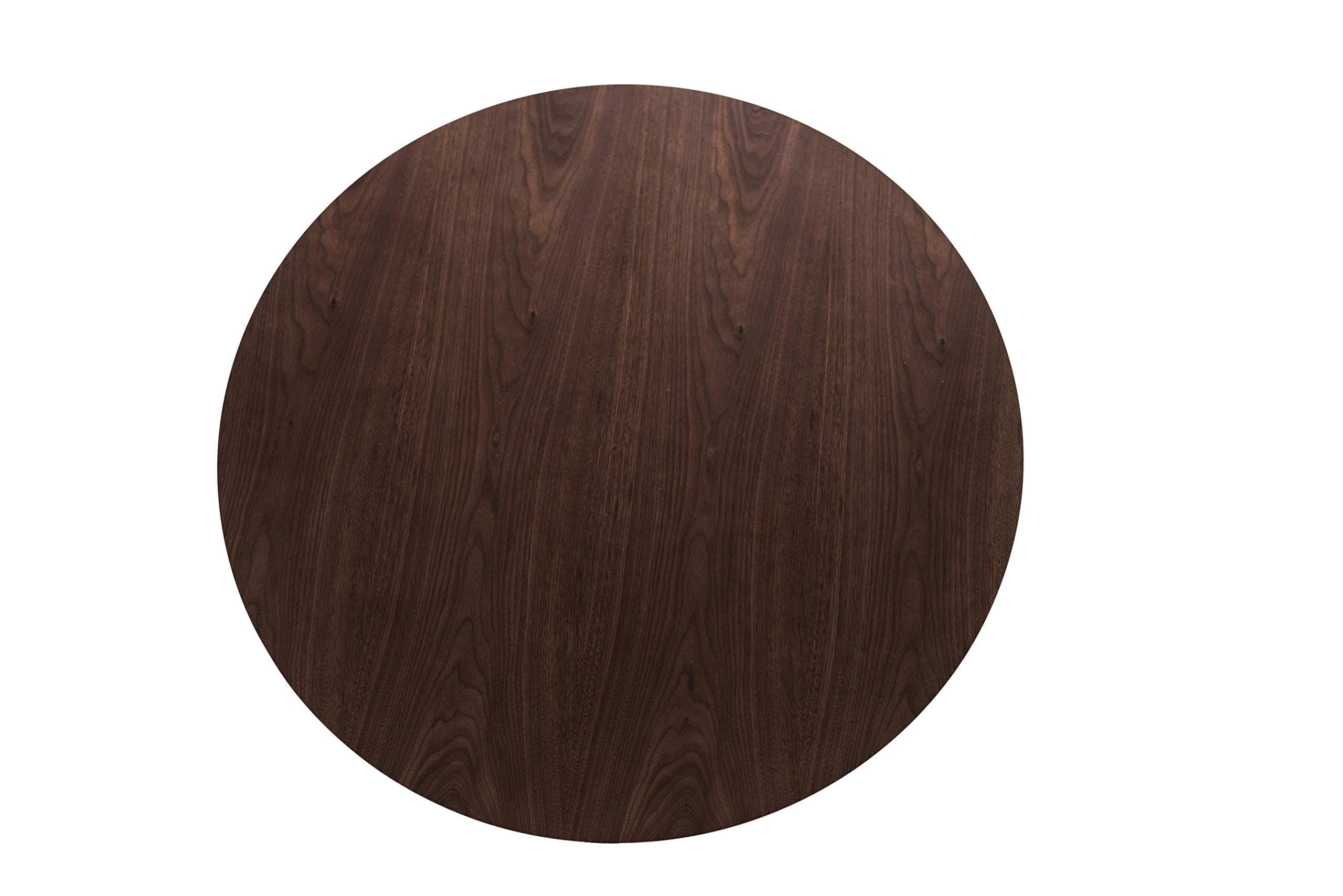 Edloe Finch YUMI Mid-Century Modern Round Dining Table Kitchen Walnut by Edloe Finch (Image #7)
