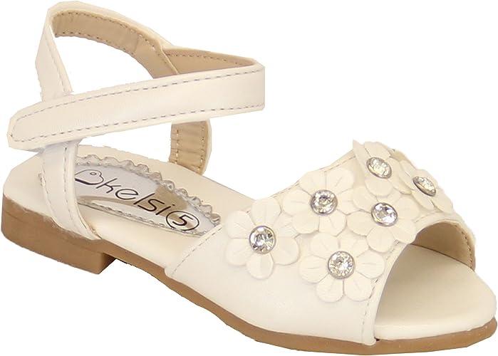 Kelsi Girl's Shoes XL12 White UK 7/EU