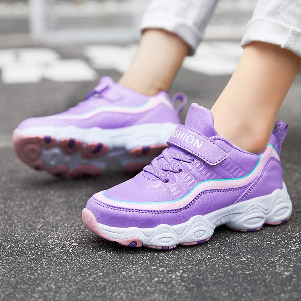 HSNA Chaussures pour Enfants Gar/çon Mode Baskets Fille Antid/érapantes Sneakers 29-40