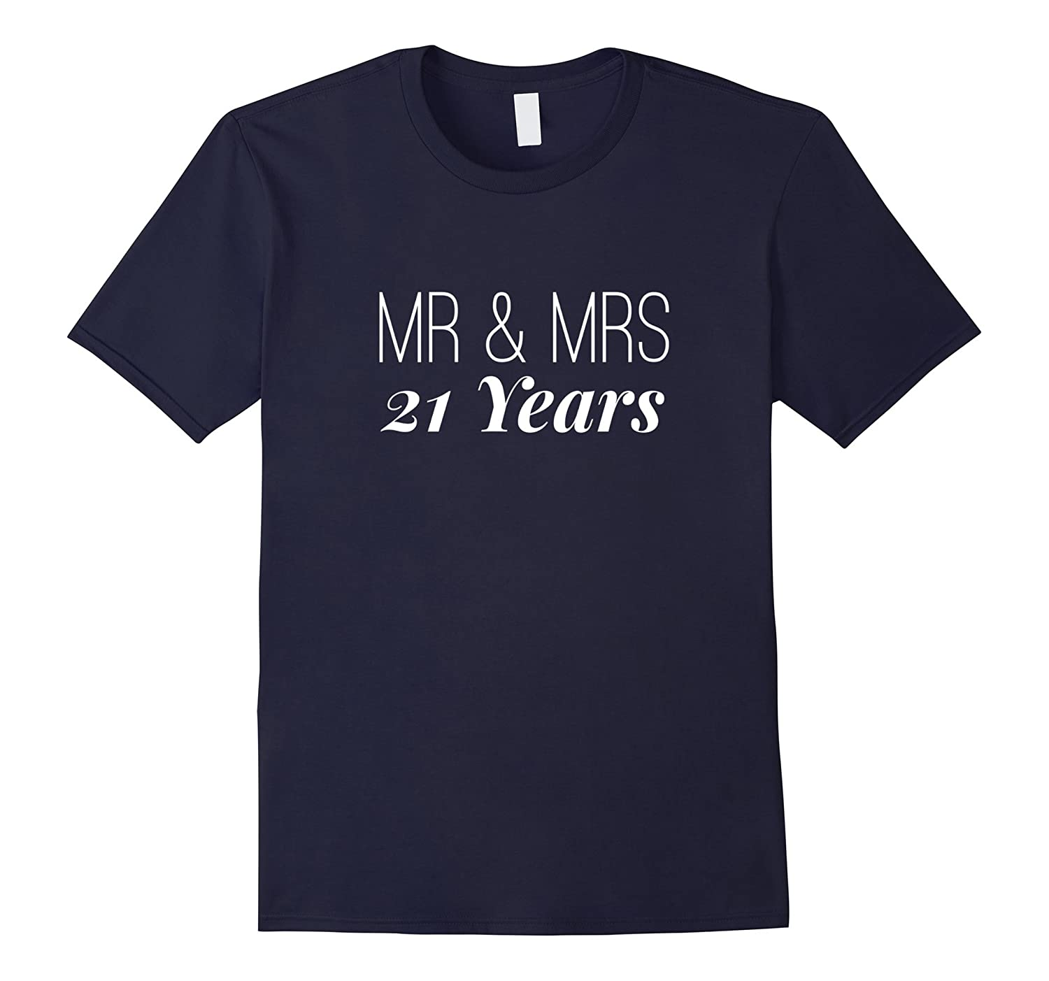 21st Wedding Anniversary Tshirt Cute Couples Men Womens Gift-T-Shirt
