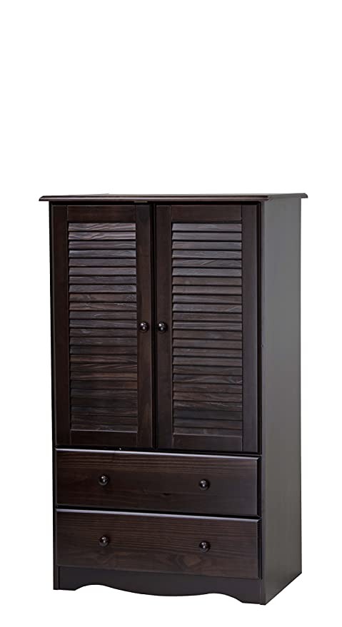 Amazon.com: Palace Imports 5916 100% Solid Wood Petite Armoire ...
