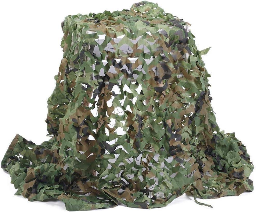 遮光ネット 迷彩狩猟射撃ネット隠す軍隊オックスフォード生地迷彩ネット 迷彩ネット屋外隠しテント (Size : 6*8M(19.6*26.2ft))  6*8M(19.6*26.2ft)