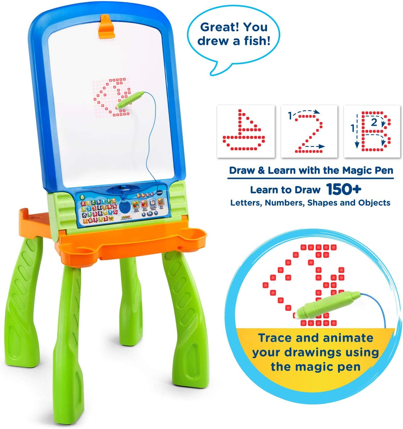 /3/in 1, Vtech Magi Interactive Easel/ French Version