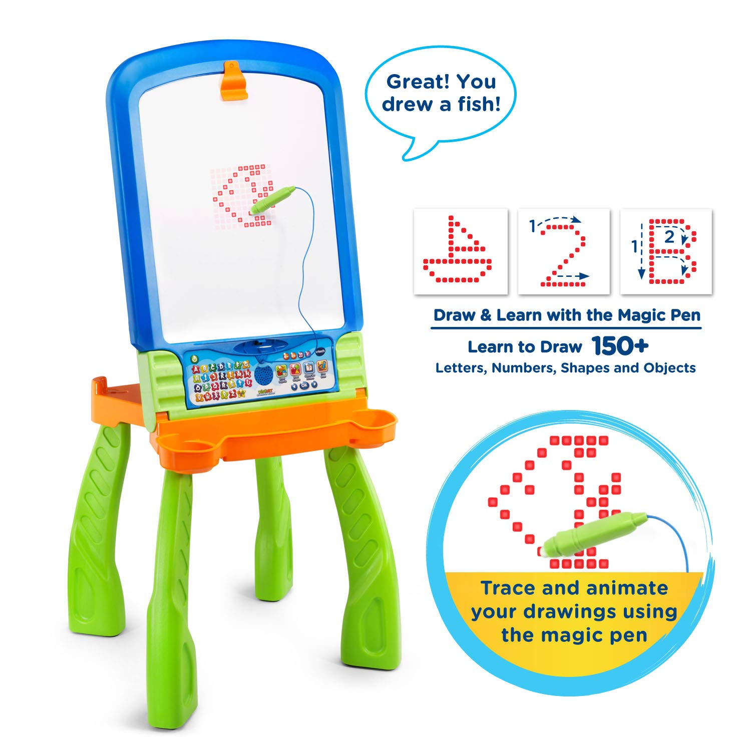 VTech DigiArt Creative Easel (Frustration Free Packaging) by VTech (Image #1)