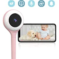 Lollipop - Smart Baby Monitor with True Crying Detection (Cotton Candy) AU/US_Plug