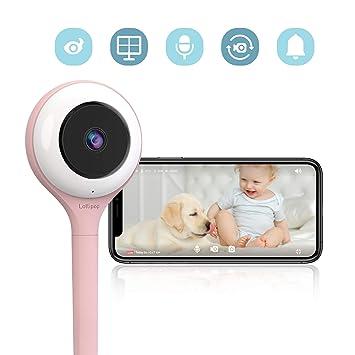 Lollipop - cámara inteligente del bebé (algodón de azúcar) - Lollipop Baby Monitor (Cotton Candy)