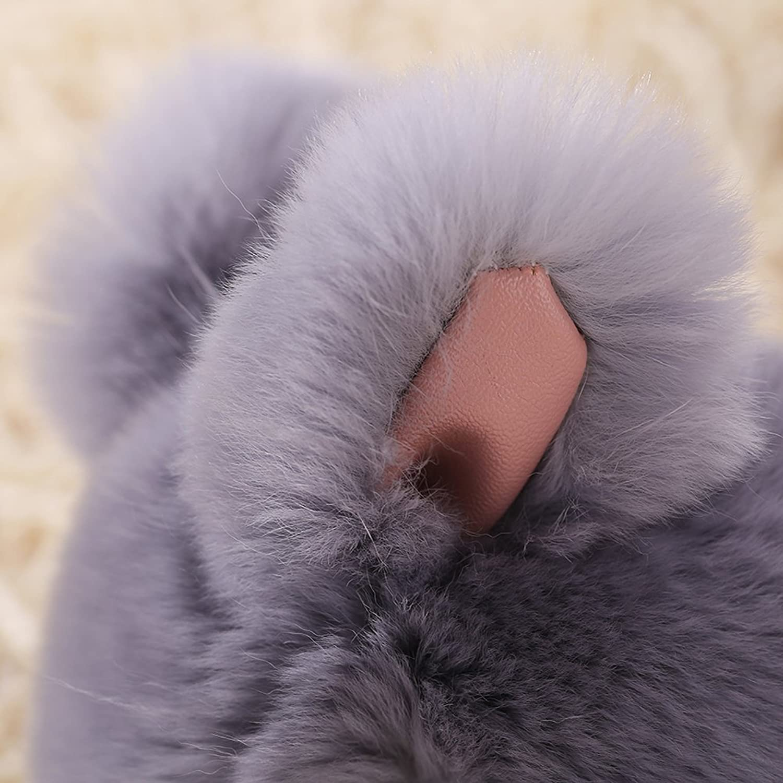 Jocestyle Womens Girls Cute Artificial Rabbit Bag Car Pendant Accessory Lovely Keychain