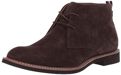 8700f25fc Amazon.com  Tommy Hilfiger Men s Gervis Chukka Boot  Shoes