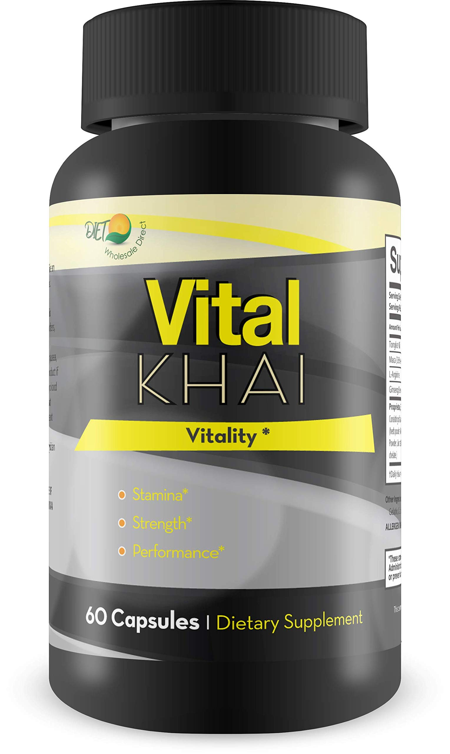 Vital Khai Vitality - Strength - Stamina - Performance - Help Boost Your Male Drive and Energy - Feel The Youthful Power of Naturally Supported Alpha Energy Today!