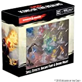 Wizkids RPG Miniatures Dungeons & Dragons Spell Effects Arcane Fury & Divine Might Pre Painted Miniature Pack