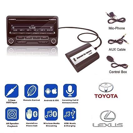 Amazon com: For Toyota Lexus Lexus Bluetooth A2DP Car MP3