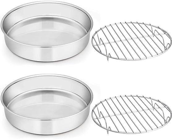 8-inch Cake Pan And Rack Set