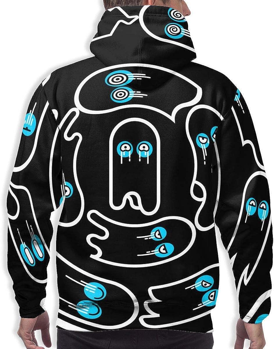 Dayawan Soul Eye Mens Hoodie Sweatshirt with Pocket Long Sleeve Pullover Drawstring Outdoor Casual