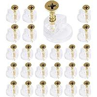 150 stks Glas Retainer Klem Kit, Glas Standoff, Spiegel Clip voor Kabinet Deuren Garderobe met 150 Bevestigingsschroeven…