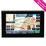 Amazon Price History for:GPS Navigation for Car, 5 inch Lifetime Map Updates, Spoken Turn-by-Turn Vehicle GPS Navigator 8GB Navigation System with USB Cable and Car Charger & Back Bracket & Mount