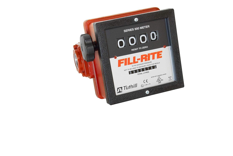 1 Manual Nozzle European Liter Meter Fill-Rite FR4211GEL 12V DC Hi-Flow Pump